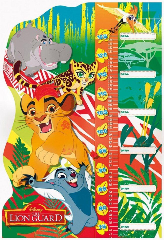 Clementoni Konturenpuzzle mit Messlatte, 30 Teile, »Disney Die Garde der Löwen«