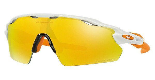 Oakley Herren Sonnenbrille »RADAR EV PITCH OO9211«, weiß, 921108 - weiß/gelb