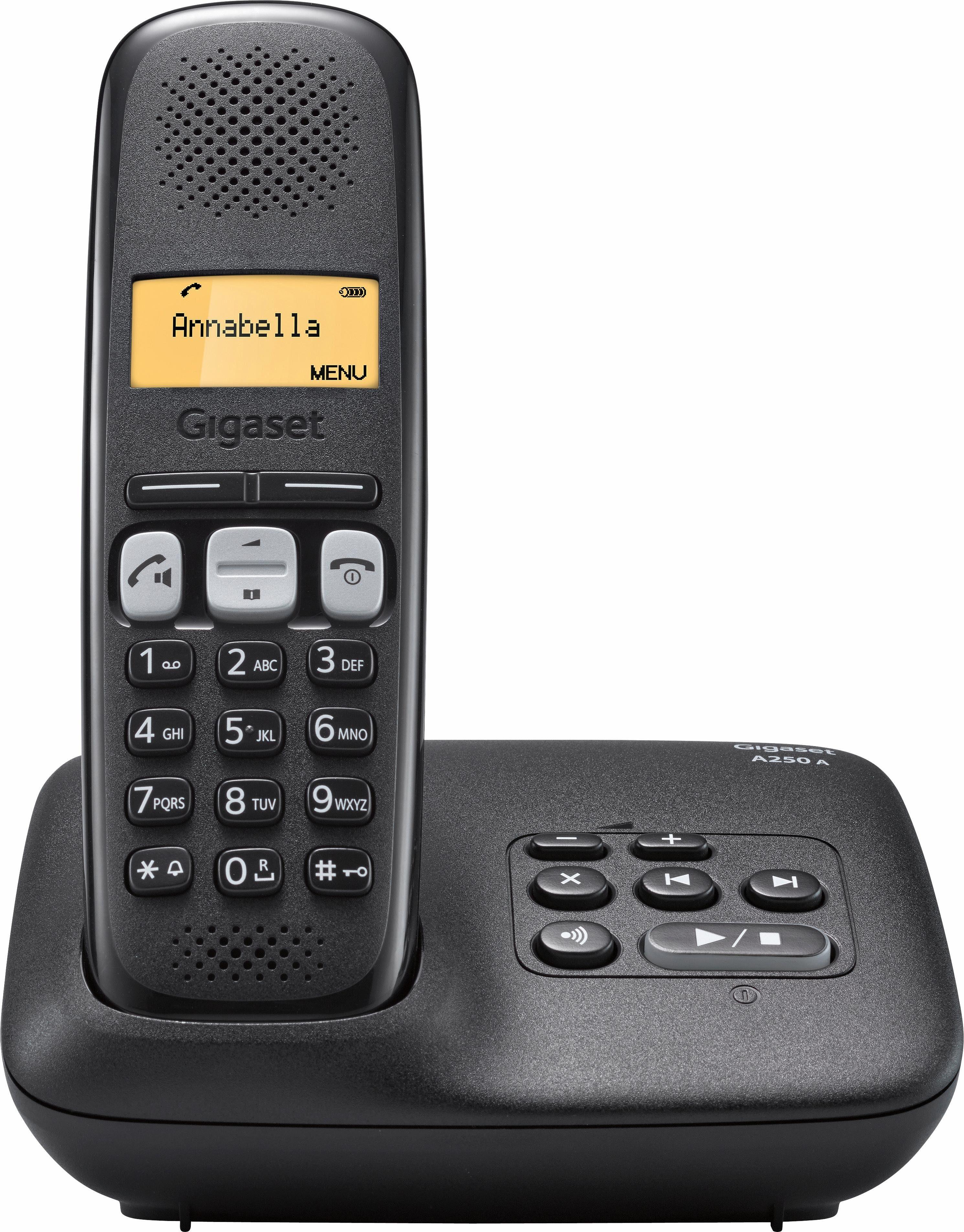 Gigaset A250 A Schnurloses DECT Telefon mit AB