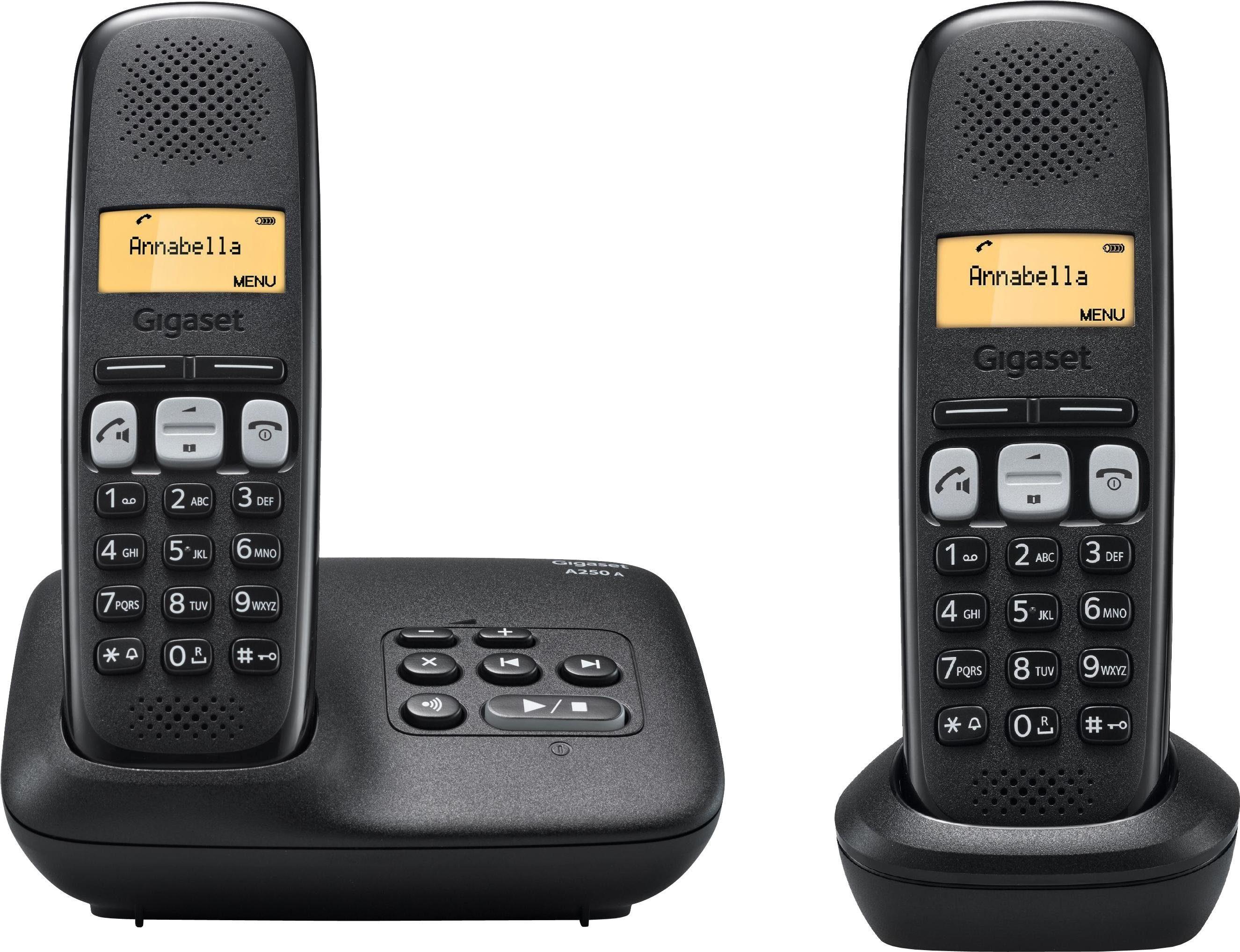 Gigaset A250 A DUO Schnurloses DECT Telefon-Set
