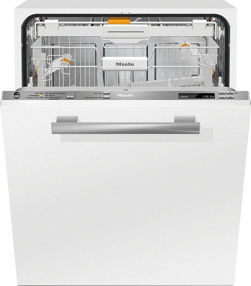 MIELE Vollintegrierbarer Einbaugeschirrspüler G6775VIXXL, A+++, 9,7 Liter, 13 Maßgedecke
