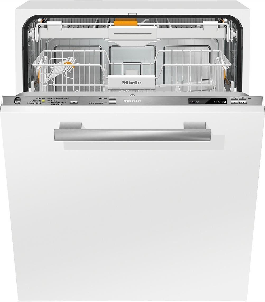 MIELE Vollintegrierbarer Einbaugeschirrspüler G6770VI, A+++, 9,7 Liter, 13 Maßgedecke