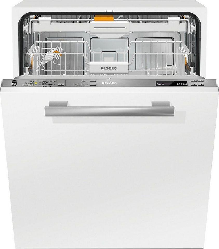 MIELE Vollintegrierbarer Einbaugeschirrspüler G6770SCVI, A+++, 9,7 Liter, 14 Maßgedecke