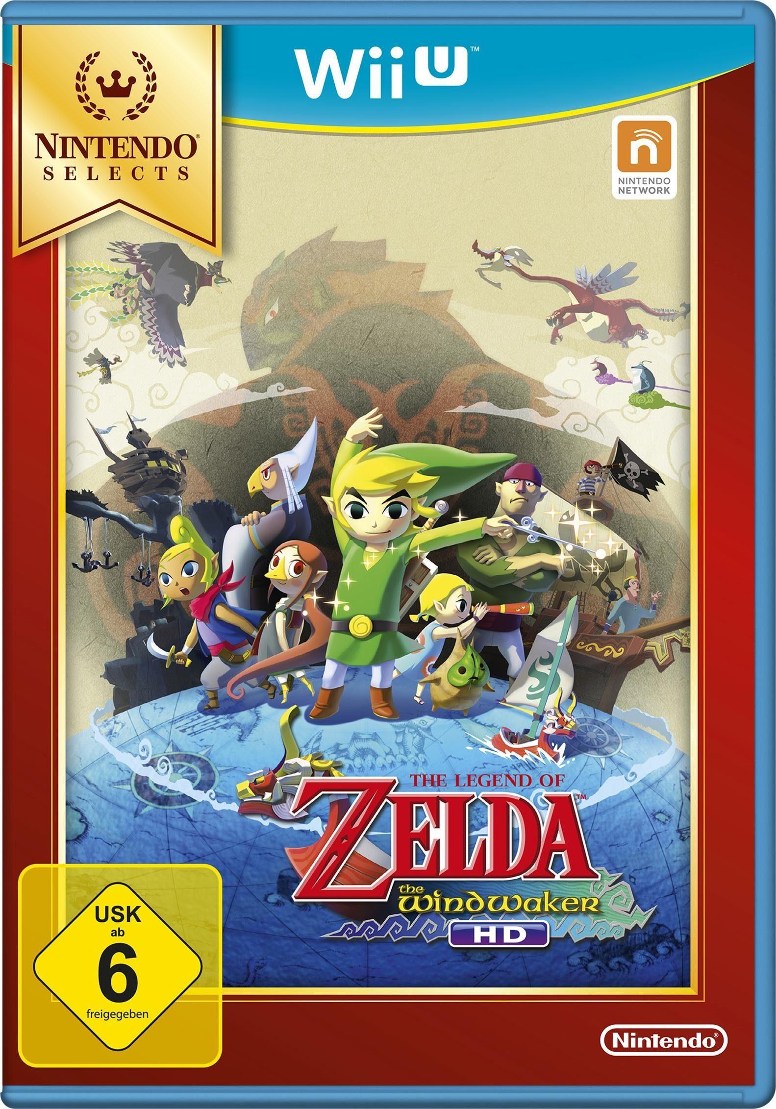 The Legend of Zelda: The Wind Waker HD Nintendo Selects Wii U
