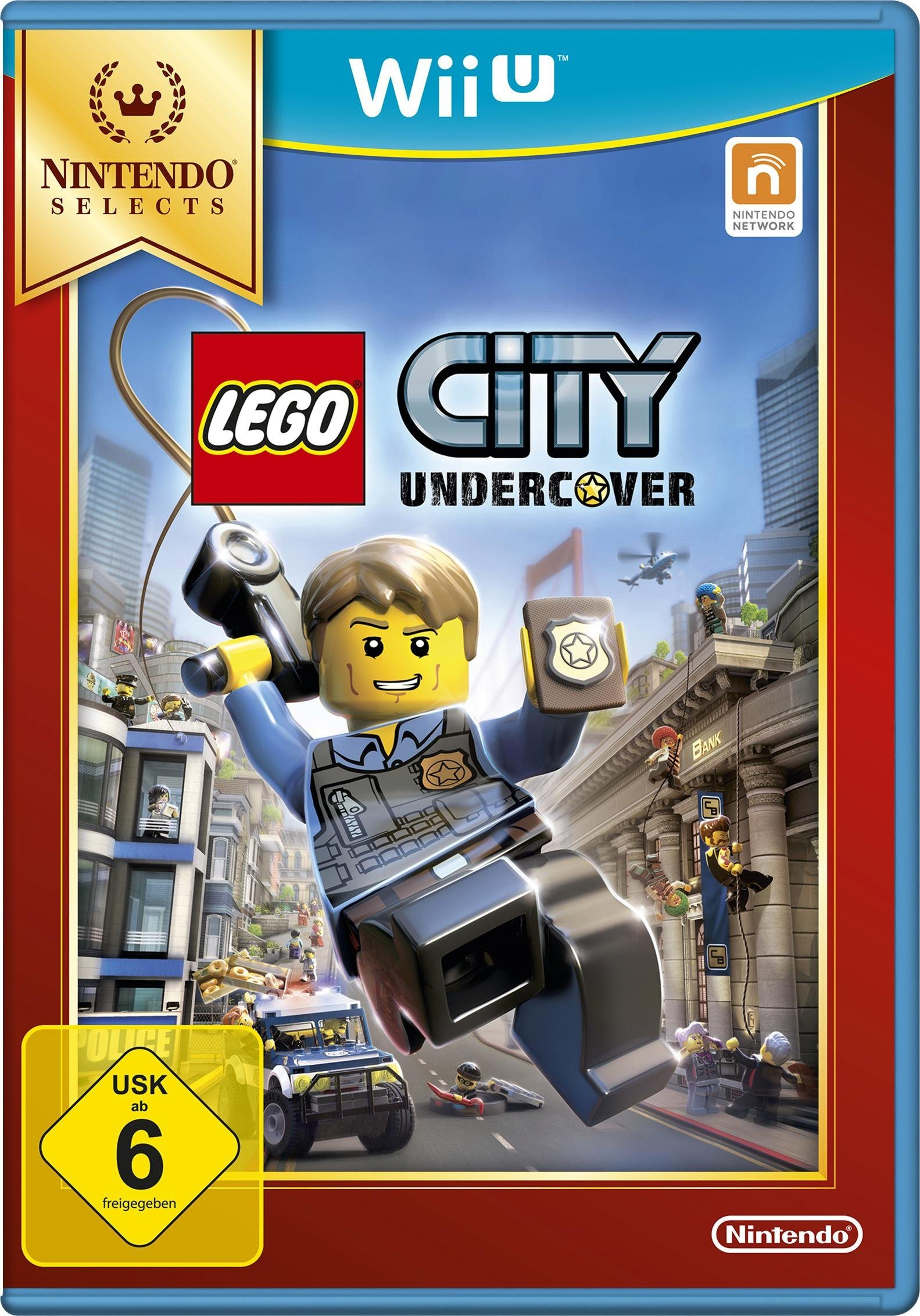 Lego City Undercover Nintendo Selects Wii U