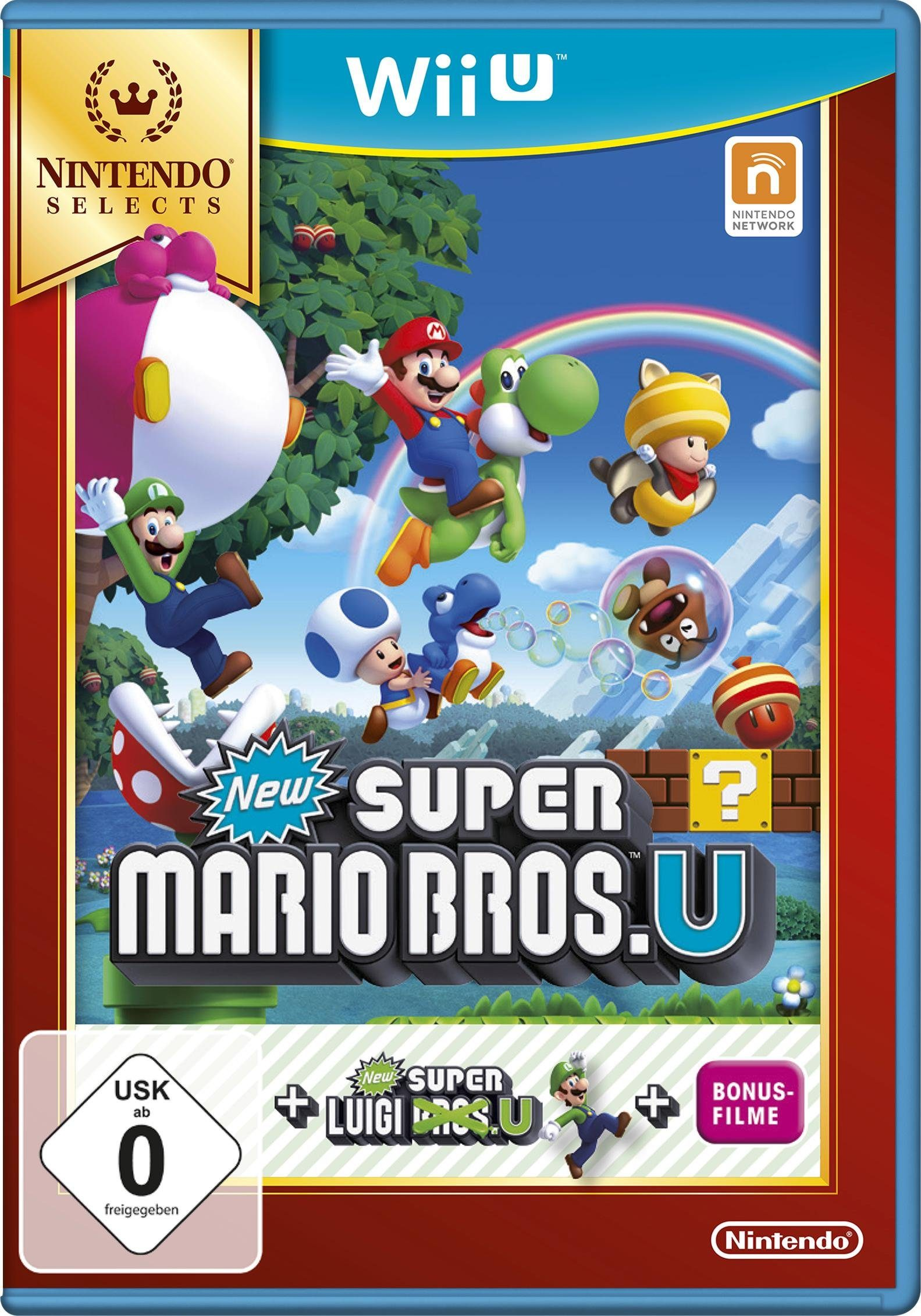 New Super Mario Bros. U + New Super Luigi Nintendo Selects Nintendo Wii U