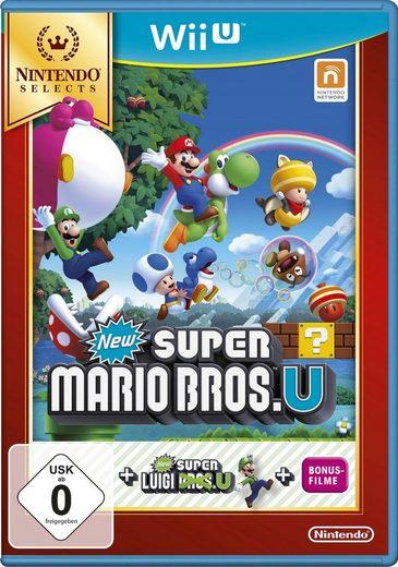 New Super Mario Bros. U + New Super Luigi Nintendo Selects Nintendo Wii U