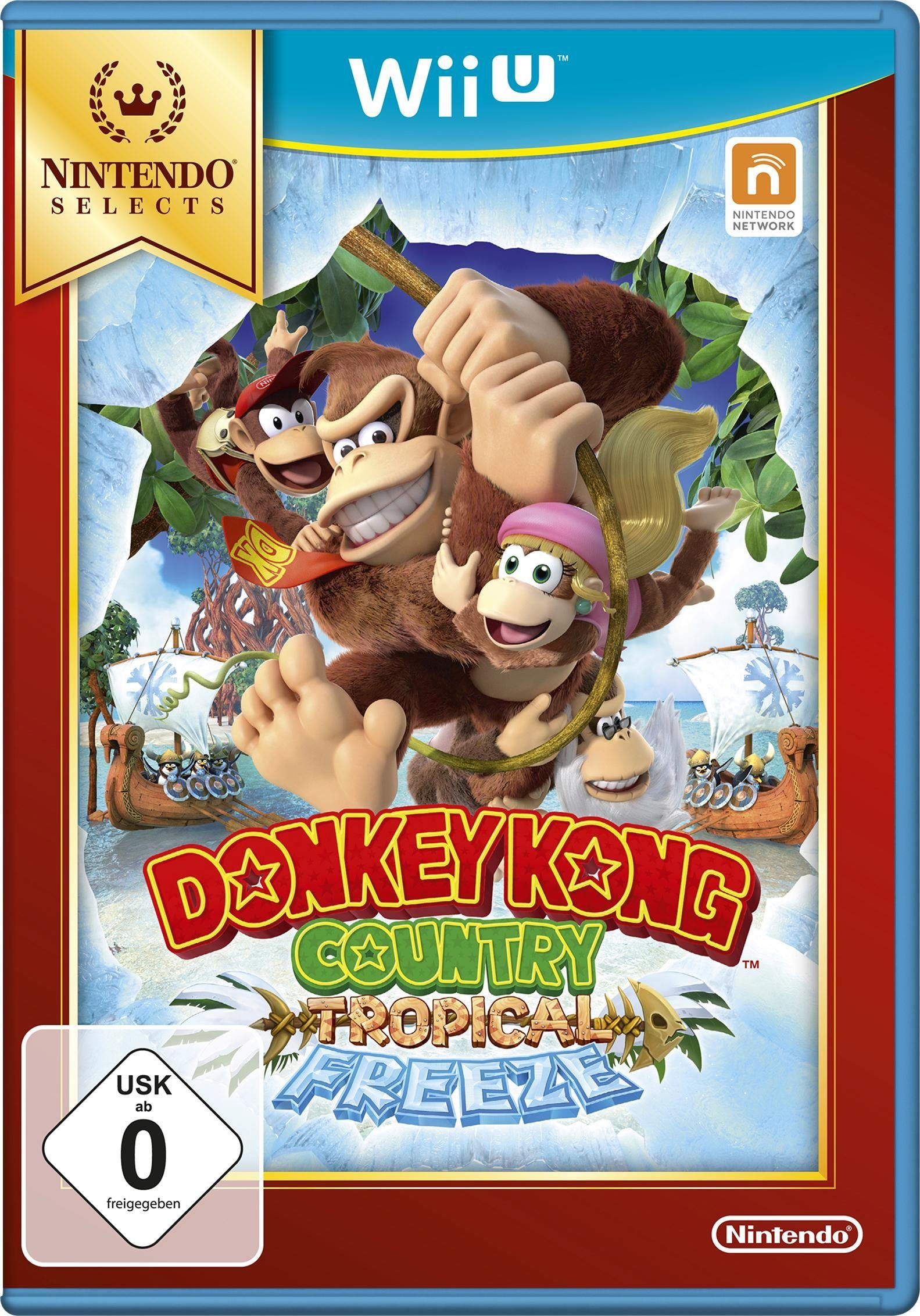 Donkey Kong Country: Tropical Freeze Nintendo Selects Wii U