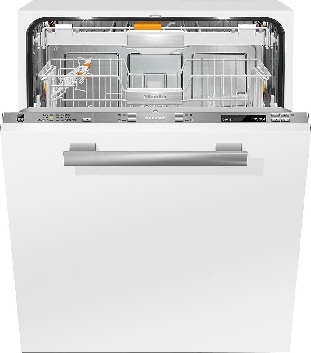 MIELE Vollintegrierbarer Einbaugeschirrspüler G6860SCVI, A+++, 9,9 Liter, 14 Maßgedecke