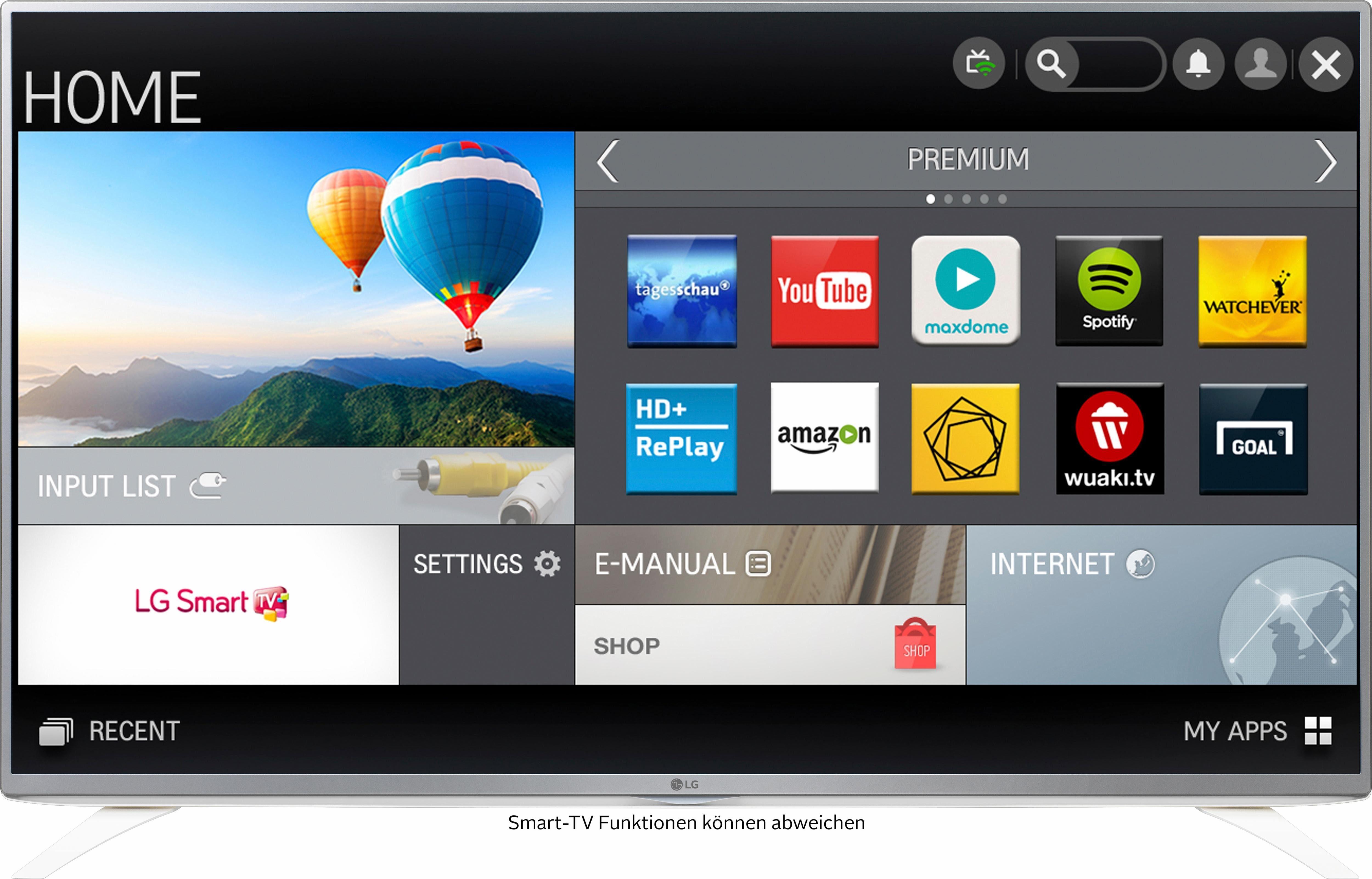 LG 43LF5909, LED Fernseher, 108 cm (43 Zoll), 1080p (Full HD), Smart-TV