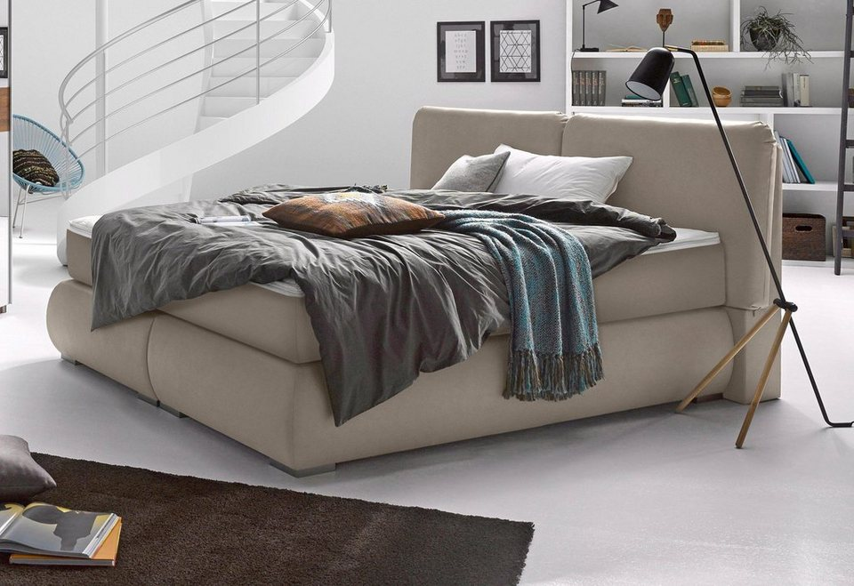 Matraflex Boxspringbett in beige