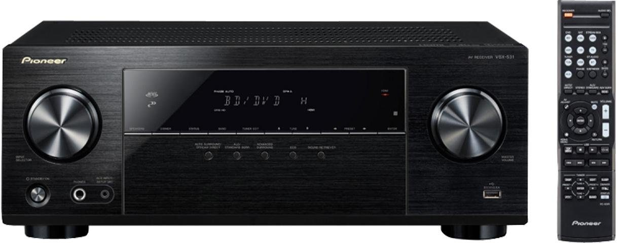 Pioneer VSX-531 5 AV-Receiver (Hi-Res, Bluetooth)