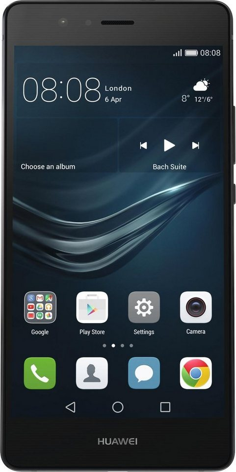 Huawei P9 Lite Smartphone, 13,2 cm (5,2 Zoll) Display, LTE (4G), Android 6.0 (Marshmallow) in schwarz