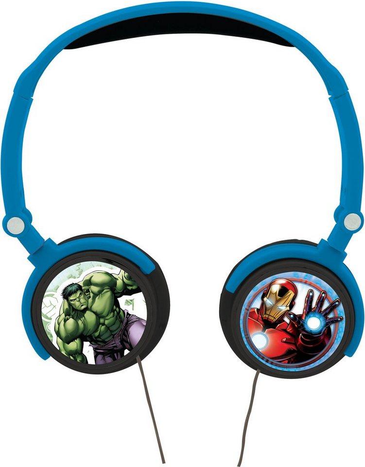 Lexibook Kopfhörer zum zusammenklappen, »Avengers«