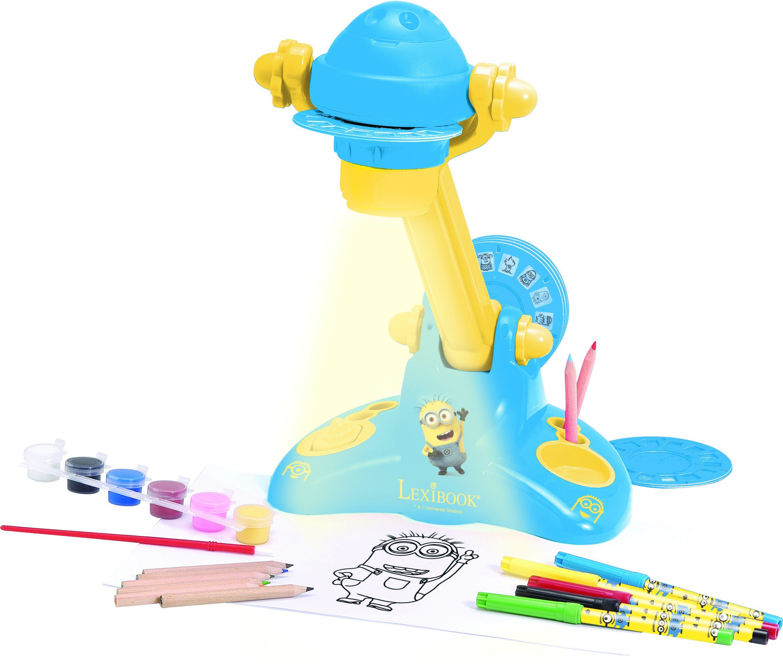 Lexibook, Zeichentisch mit Lichtprojektor, »Minions«