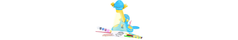 Lexibook Zeichentisch mit Lichtprojektor, »Minions«