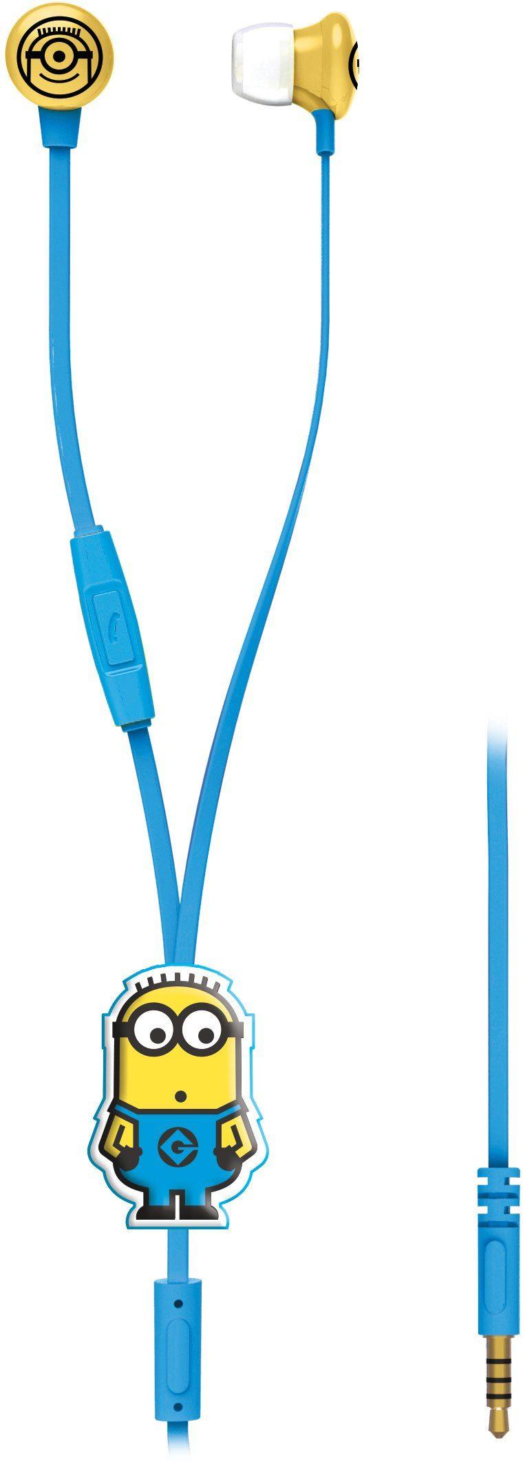 Lexibook, Stereo Ohrstöpsel mit Mikrofon, »Minions Mini Kopfhörer«