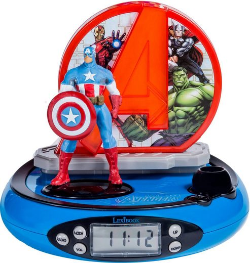Lexibook® Projektionswecker »Avengers«