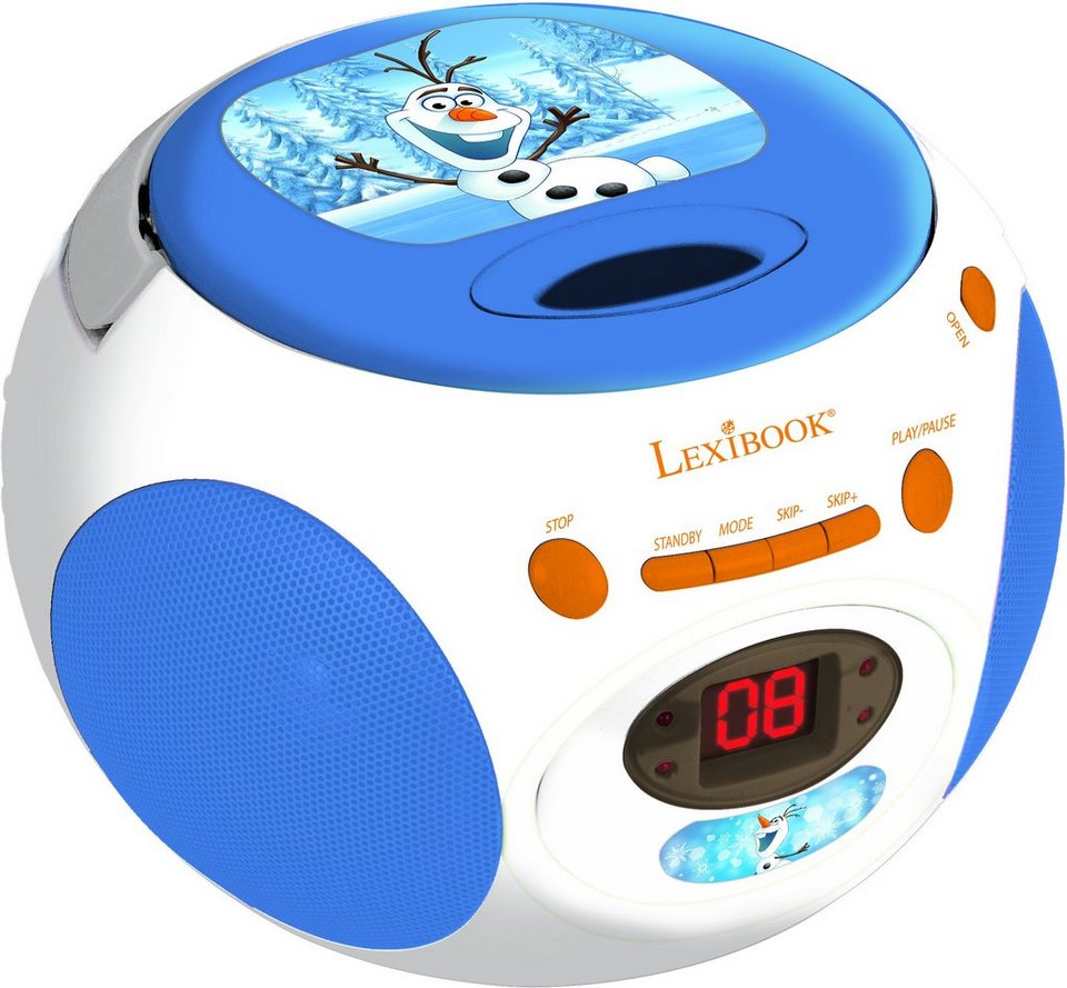 Lexibook, Radio CD-Player, »Disney Frozen Olaf Boombox«