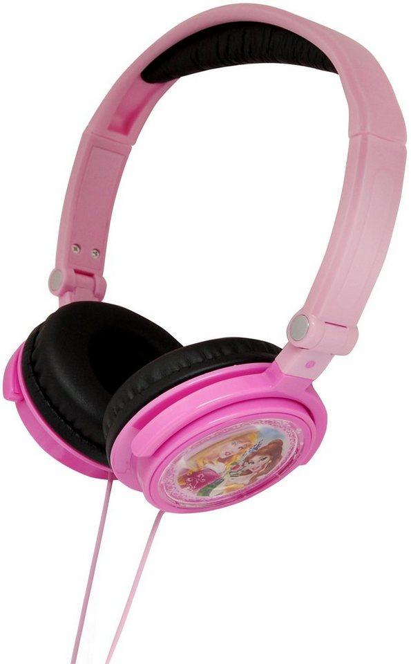 Lexibook, Kopfhörer zum zusammenklappen, »Disney Princess« in rosa