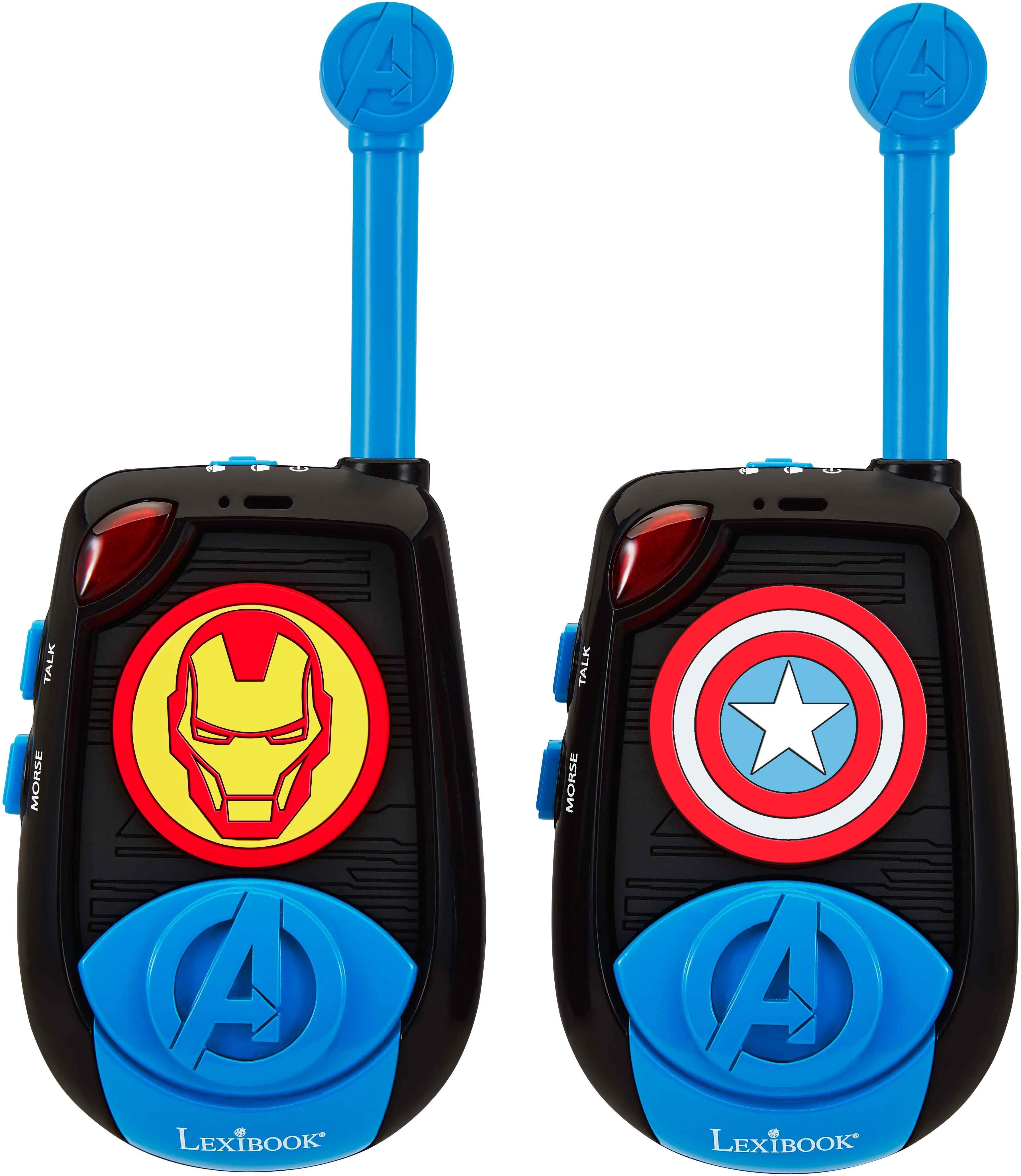 Lexibook, Walkie Talkie, 2er Set, »Avengers Reichweite 2 km«