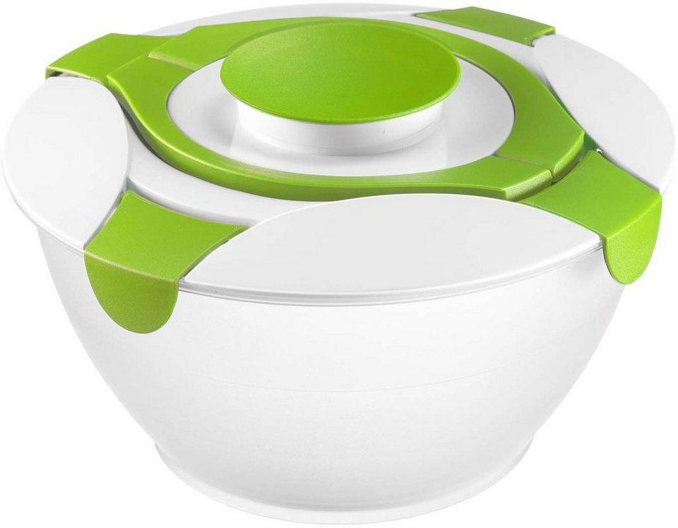 WESTMARK Salat-Set, 3-teilig in weiß/grün