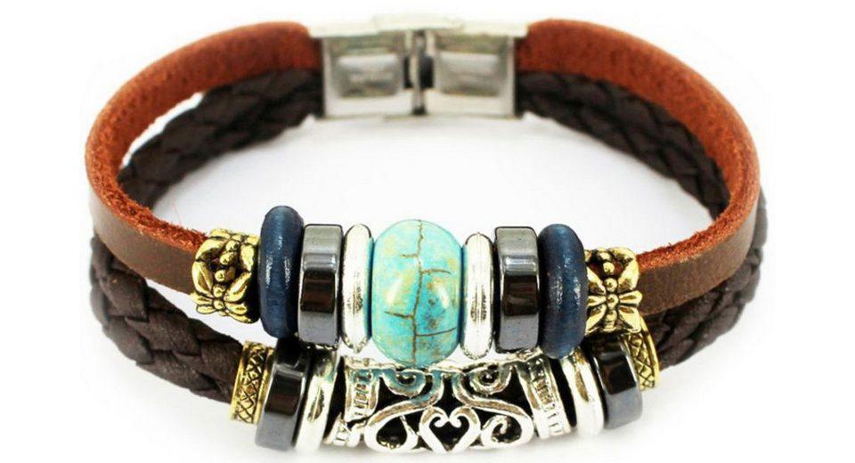 firetti Armband mit Howlith