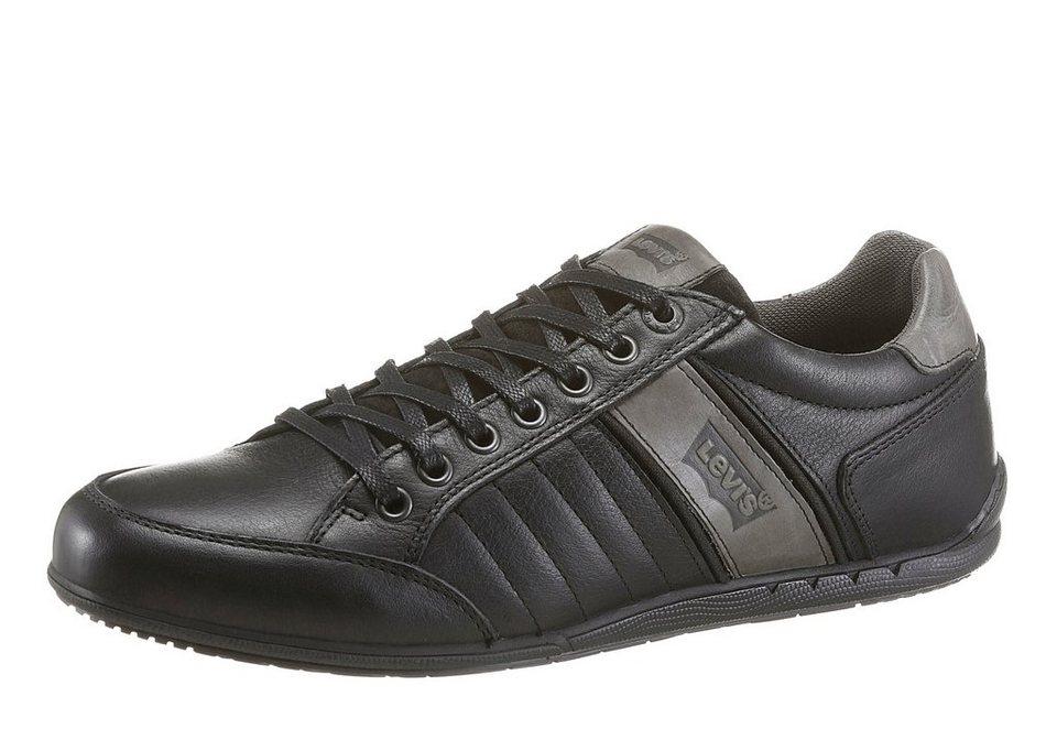 Levi's® Sneaker mit herausnehmbarer Sohle in schwarz-braun