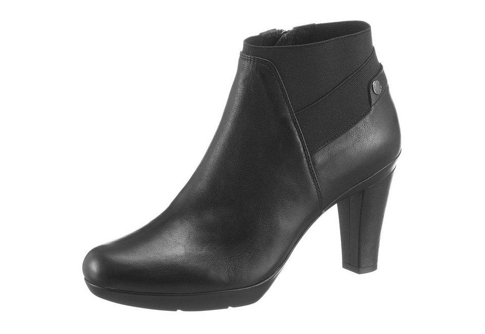 Geox Ankleboots in schwarz