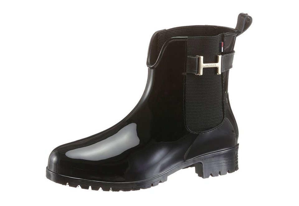Tommy Hilfiger Chelseaboots in schwarz