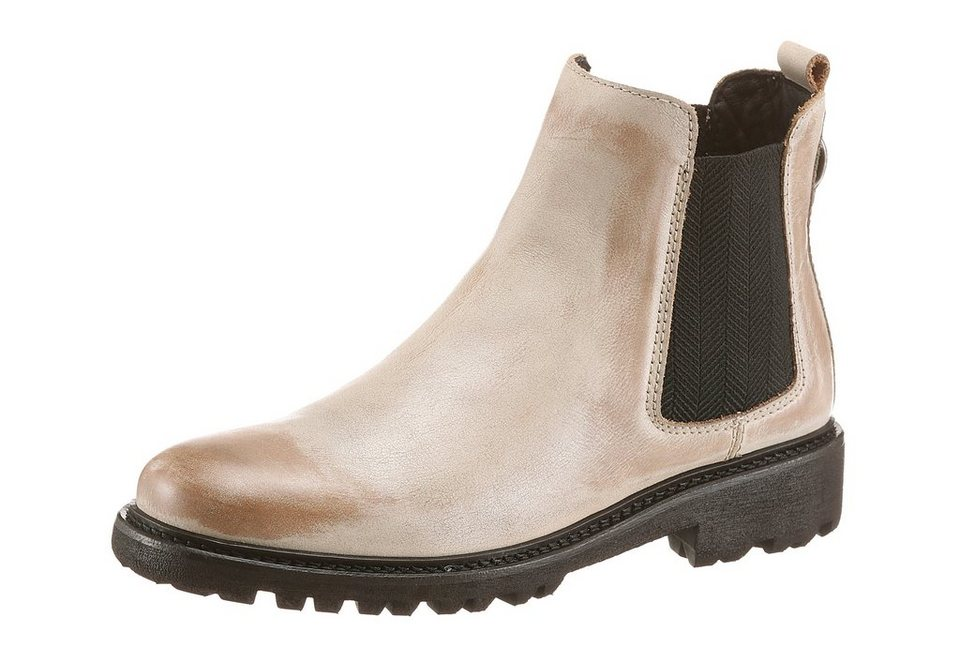 Tommy Hilfiger Chelseaboots in offwhite