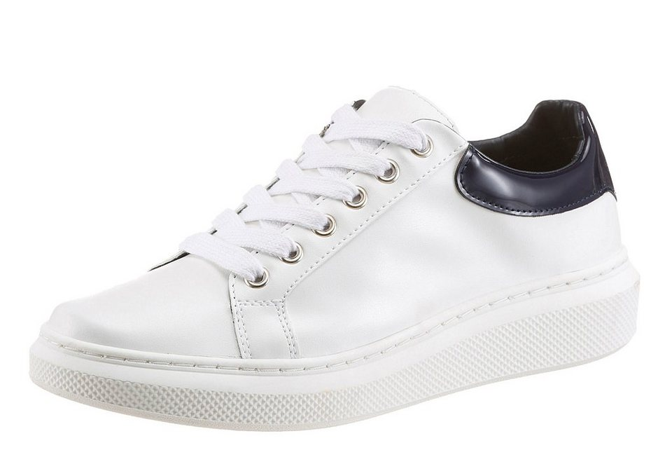 Tommy Hilfiger Sneaker in weiß-dunkelblau