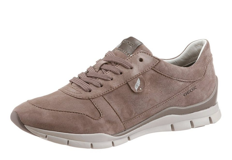 Geox Sneaker in taupe