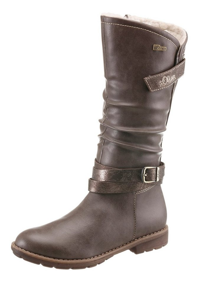 s.Oliver RED LABEL Winterstiefel in braun