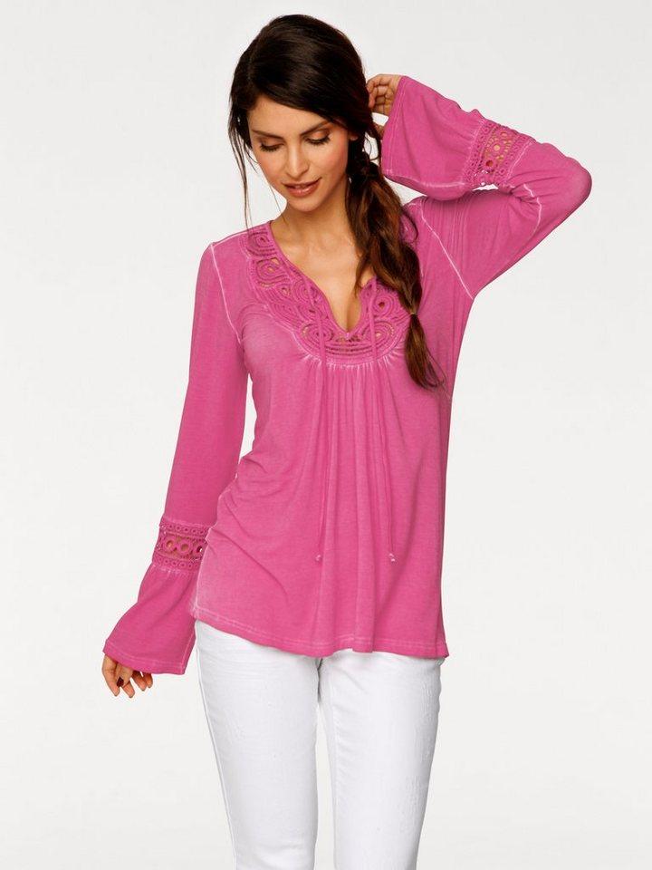 Tunikashirt in pink