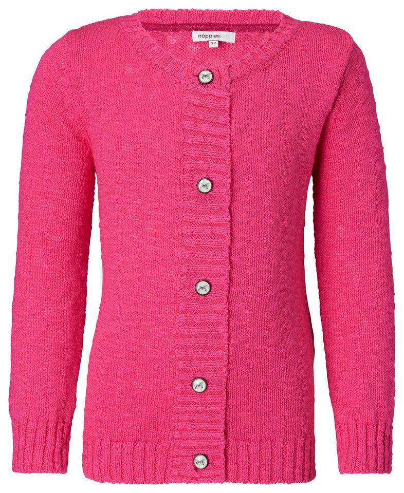 NOPPIES Strickjacke lsa in Pink