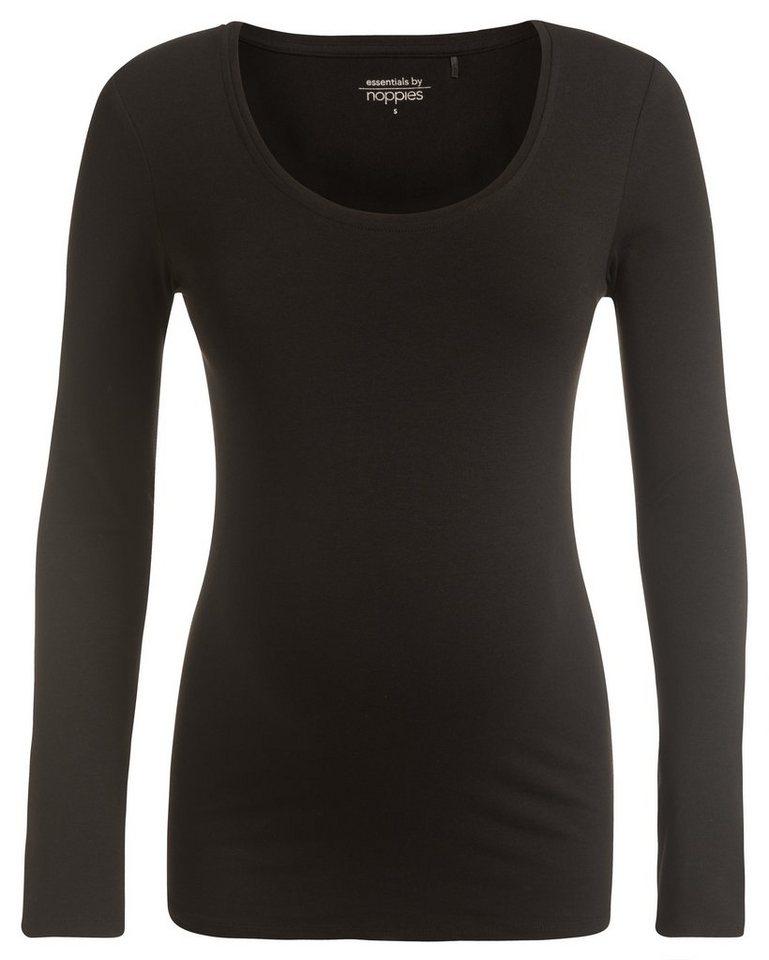 NOPPIES Langarmshirt »Amsterdam« in Black