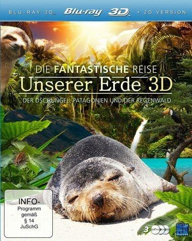 Blu-ray »Unsere Erde (3 Discs, Blu-ray 3D + 2D Version)«