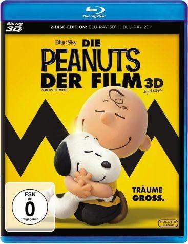 Blu-ray »Die Peanuts - Der Film (Blu-ray 3D)«