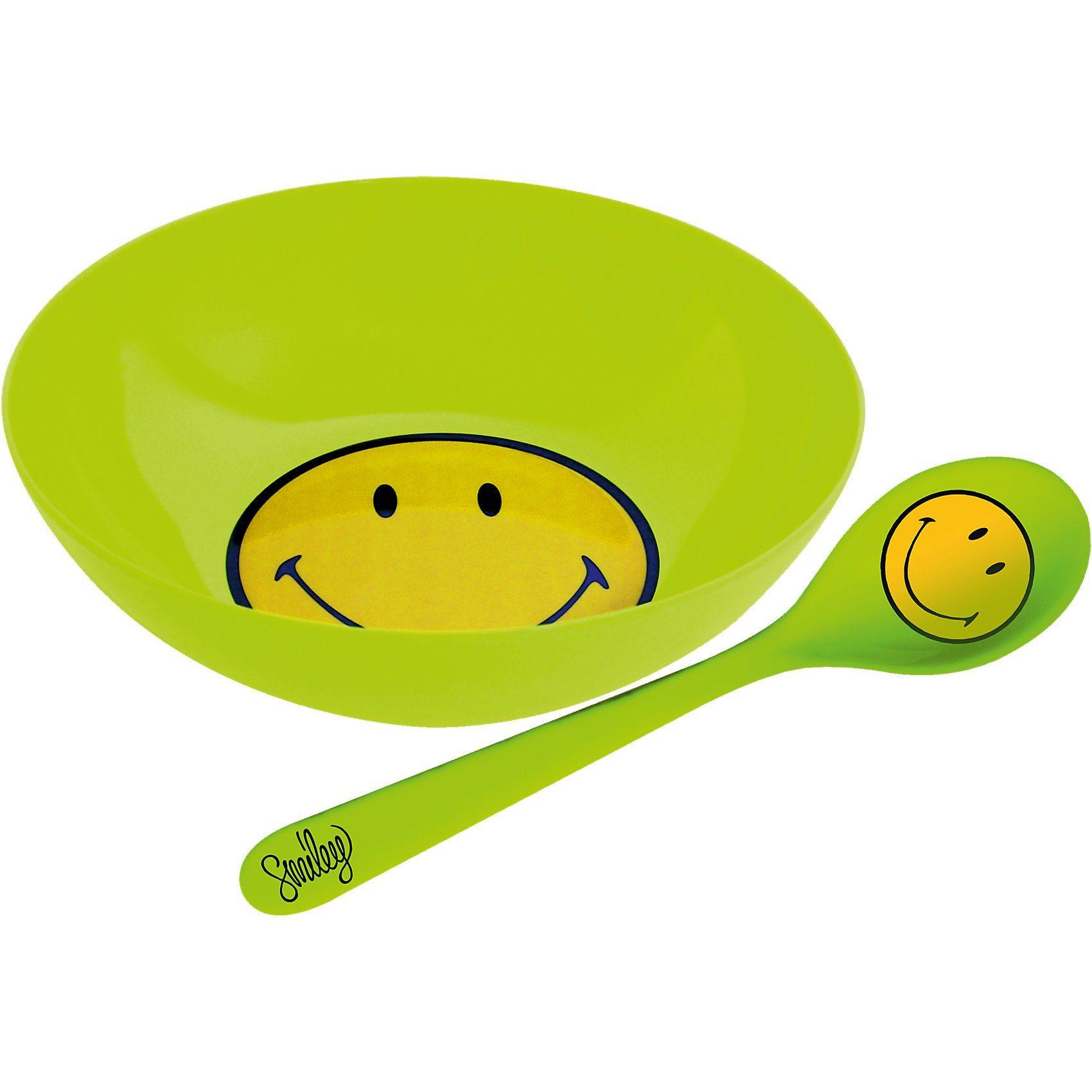 Smiley Frühstücksset, grün