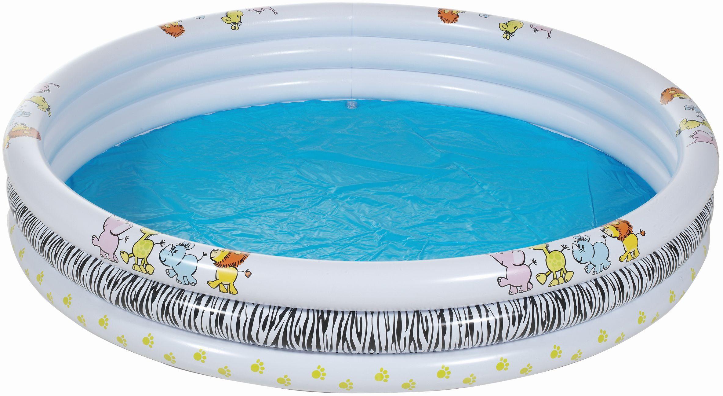 Royalbeach® Planschbecken, Ø ca. 170 cm, »Basic-Pool Safari«
