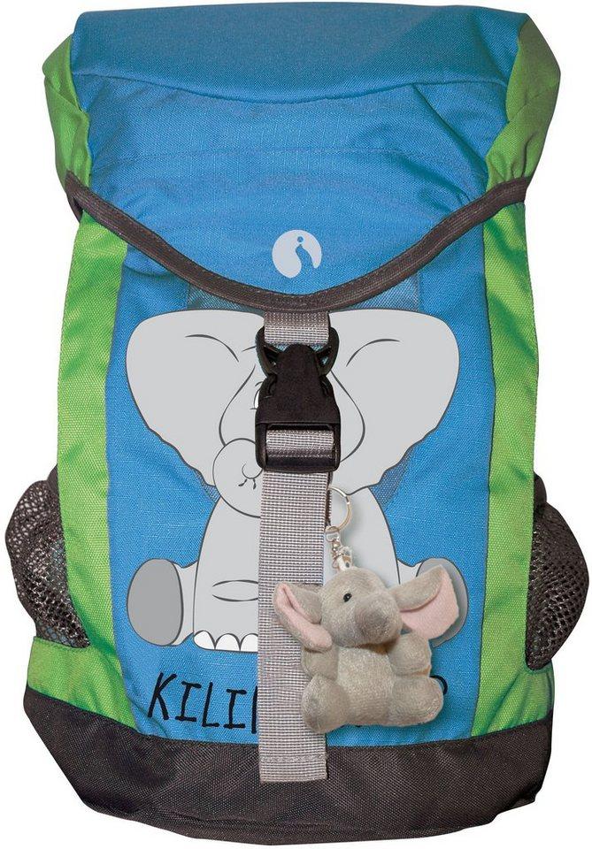 Royalbeach® Kinderrucksack mit Schlüsselanhänger, »Happy Elephant«