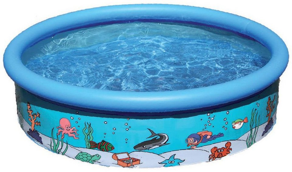 Royalbeach® Planschbecken, Ø ca. 185 cm, »FAST Pool ATLANTICA« in blau