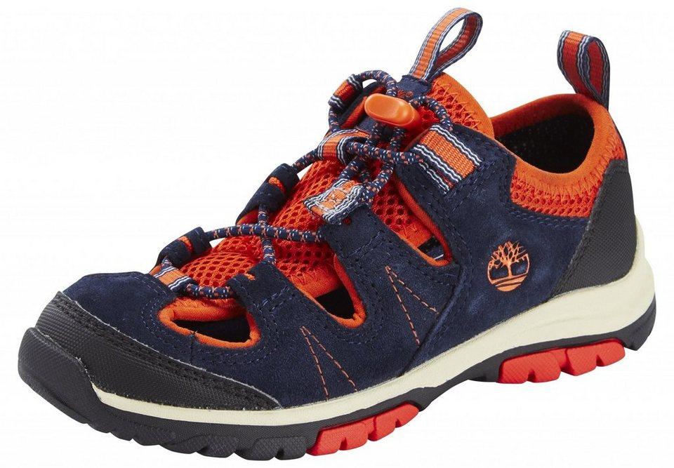Timberland Halbschuhe »Fisherman Shoes Youth Zip Trail« in blau