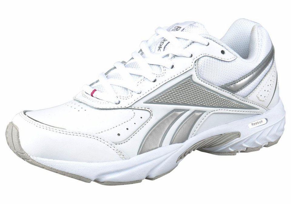 Reebok Daily Cushion 3.0 Walkingschuh in Weiß-Silberfarben