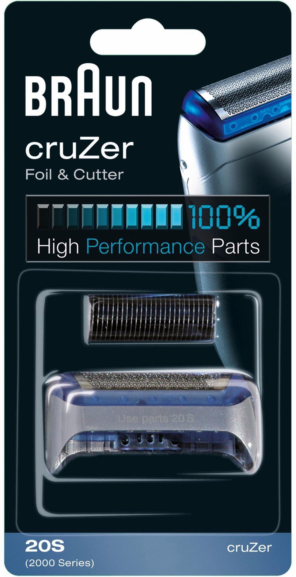 Braun, Ersatzscherteil, CruZer 20 S