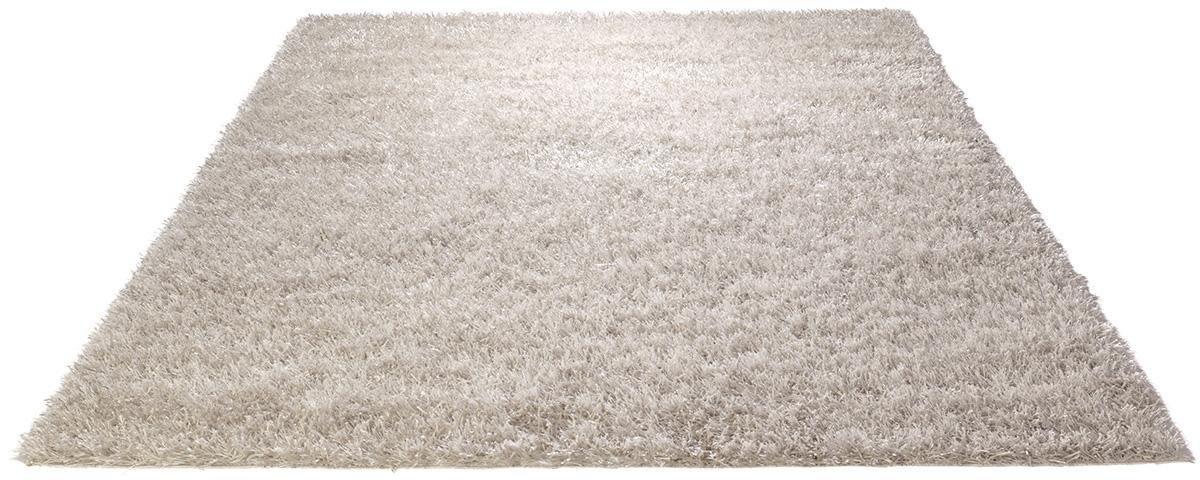 Hochflor-Teppich »Cool Glamour 1«, , rechteckig, Höhe 50 mm, Besonders weich durch Microfaser