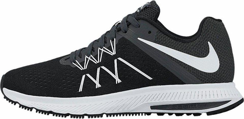 Nike »Winflo 3 Wmns« Laufschuh in schwarz-weiß