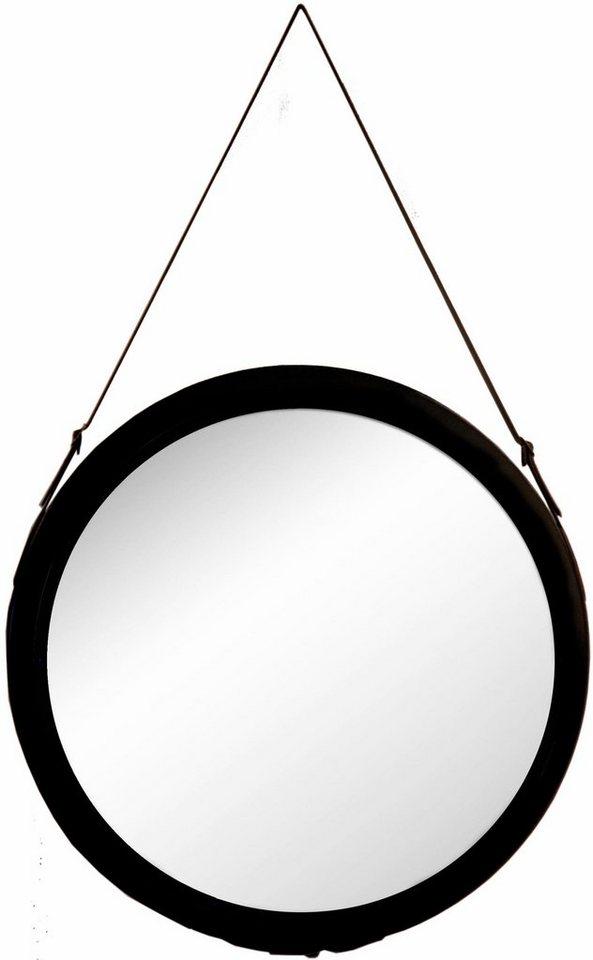 Dekospiegel wohnspiegel online kaufen otto for Spiegel rund schwarz