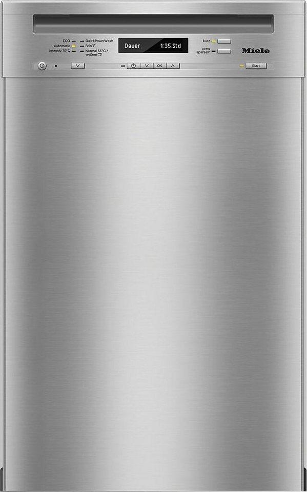 MIELE Unterbaugeschirrspüler G4820SCU, A+++, 8,7 Liter, 9 Maßgedecke in silberfarben